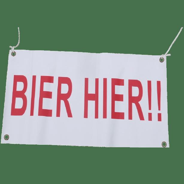 bier hier banner