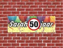 spandoek sarah 50 jaar