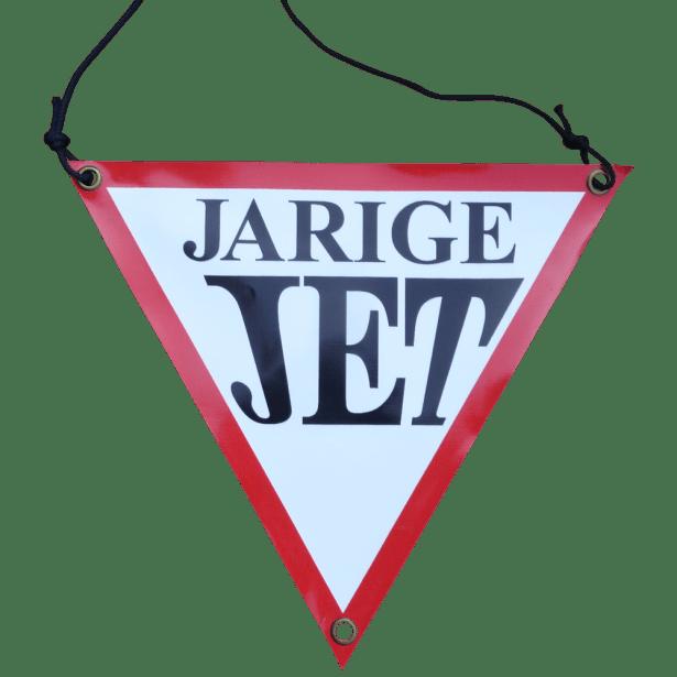 jarige jet banner