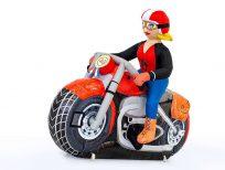 sarah op motor - vrouw op motor