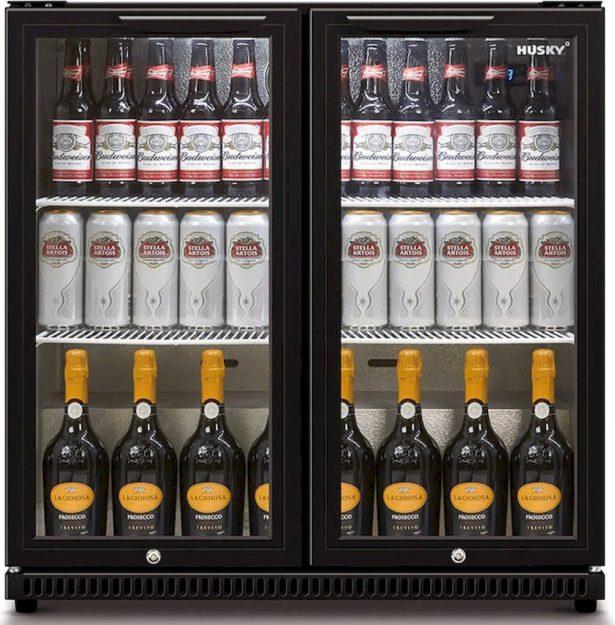 2 deurs koelkast 186L