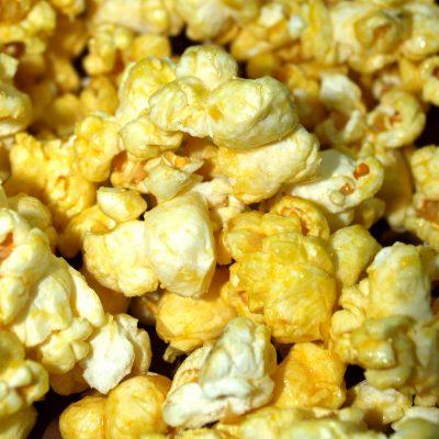grondstoffen voor popcorn zoet