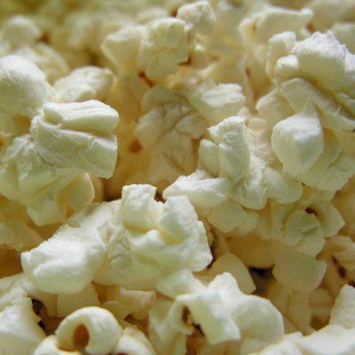 grondstoffen voor zoute popcorn