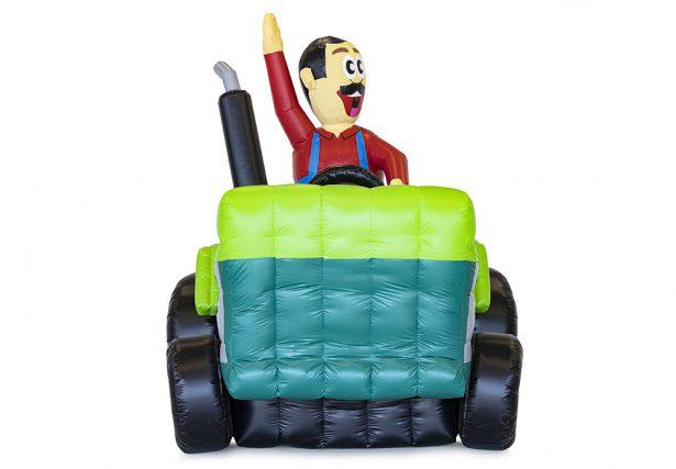 abraham tractor te huur opblaasbaar
