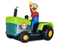 abraham tractor boer huren