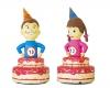 opblaasbare kinder verjaardagstaart voor jongen of meisje